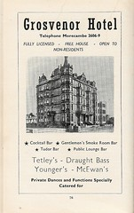 grosvenor hotel flyer (morecambememories) Tags: morecambe flyer advert morecambememories grosvenorhotel hotel grosvenor