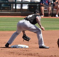BrettLawrie covers base (jkstrapme 2) Tags: baseball jock cup bulge tight ass athlete