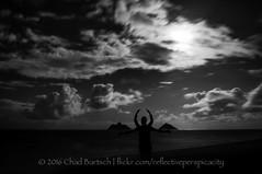The Crab People of Lanikai Beach (reflective perspicacity) Tags: oahu honolulu hawaii 2016 vacation summer july2016 nikond300 night pacificocean longexposure lanikai lanikaibeach kailua east h1 h3 h2 usa unitedstates paradise