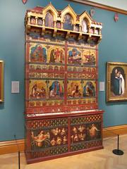 The Great Bookcase 1 (pefkosmad) Tags: thegreatbookcase bookcase books preraphaelite oxford oxfordshire oxon ashmoleanmuseum museum exhibit england uk williamburges
