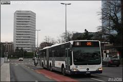 Mercedes-Benz Citaro G - TPG (Transports Publics Genevois) n°152 (Semvatac) Tags: semvatac photo bus tramway métro transportencommun mercedesbenz citarog ge960536 tpg transportspublicsgenevois 8 placedesnations genève suisse