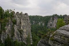 Landscape near Bastei Bridge - Saxon Switzerland National Park (timohannukkala) Tags: bastei landscape national park saxon saxonswitzerland schweiz schsische rathen sachsen germany de