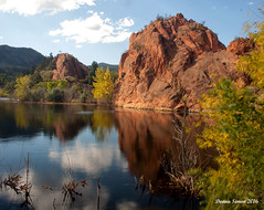 Peace and quiet (donnasimonviii) Tags: landscape peaceful out doors reflections nature co redrocks canyon canon mountain hill colorado