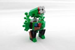 Twank Forest Commando (Deltassius) Tags: robot war lego space military camouflage frame scifi mecha commando mech twanks mf0