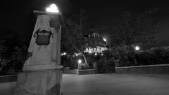 Phantom Manor in the Moonlight (DLP-Photos by NKA-Photo.com) Tags: longexposure moon paris france sign night dark disneyland disney ghosts phantom pm manor walt dl phantommanor hauntedmansion frontierland disneylandparis dlp disneyparks disneyphotos disneyparcs parcsdisney