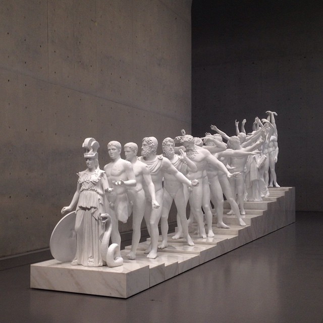 Xu Zhen, European Thousand-Hand Classical Sculpture, 2014.