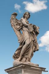 Statue super vestem meam miserunt sortem, Sant' Angelo bridge, Roma, Italia
