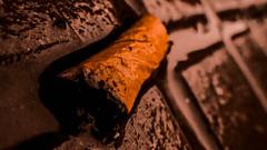 relleno (Bautista Martín) Tags: color macro lluvia cigarette smoke mojado cigarrillo