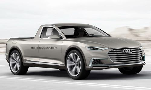 Рендер Audi Pickup от theophiluschin.com