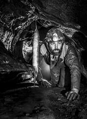 Ogof Nant Hyfryd [Explore 10-4-15] (ChunkyCaver) Tags: curtain limestone caving stalagmite stalactite spelunking caver philknight ogofnanthyfryd