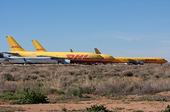 Kingman Boneyard (Aerospace Imaging) Tags: arizona aviation airbus retired boneyard dc8 a300 dhlexpress kingmanairport kigm