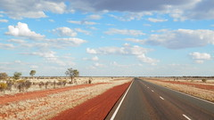outback (ScottishDeathBear) Tags: from road red driving desert oz australia darwin outback dust ontheroad alicesprings
