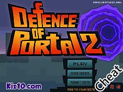 傳送門防禦戰2:修改版(Defence of Portal 2 Cheat)
