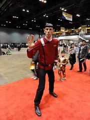 Vegas Spock (blueZhift) Tags: vegas startrek chicago game anime comics costume video cosplay manga fantasy convention spock scifi 2015 c2e2 spockvegas