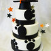 GB-123 Tiered Paw Print Cake