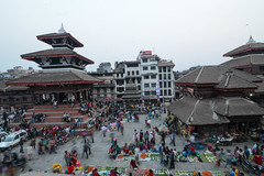 Trailokya Mohan Narayan Temple at Kathmandu Durbar Square