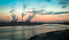 Fiddlers Ferry sunset (2 of 2) (andyyoung37) Tags: uk sunset england cheshire unitedkingdom gb runcorn fiddlersferrypowerstation