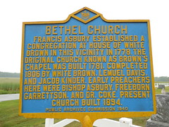 Bethel Church Historic Marker (jimmywayne) Tags: church historic marker delaware bethel stateline sussexcounty