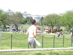 IMG_0671 (FOTOSinDC) Tags: shirtless man hot men back candid running sweaty sweat shorts jogging runner jogger