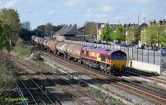 """Eastleigh """" Holly Tanks"""" (davidhann34016) Tags: tea oil esso eastleigh fawley class66 holybourne 66075"""
