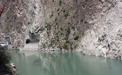 Reservoir on river Iravati (Ravi) (Rupak Sarkar and Uma Sarkar) Tags: ravi himachal himalayas bharmour iravati