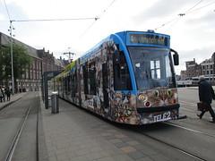 GVBA tram 2087 Amsterdam CS (Arthur-A) Tags: netherlands amsterdam cat kat nederland tram streetcar tramway poes strassenbahn electrico tranvia gvb combino tramvia gvba