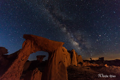 Gate to the Alien City (wenjieqiao) Tags: way arch milky planit planitforphotographers valleyofdream