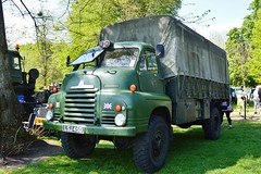 Bedford RL Lorry (PD3.) Tags: uk england festival truck army bedford transport hampshire lorry trucks 450 rl basingstoke lorries hants lsj thorneycroft lsj450