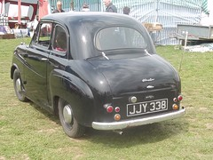 1954 Austin A30 (occama) Tags: old uk black car vintage austin cornwall 1954 british a30 jjy338