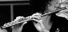 Flute (hub en gerie) Tags: bw music hands zwartwit flute muziek instrument handen blackdiamond autofocus dwarsfluit fluit greatphotographers platinumheartaward platinumpeaceaward
