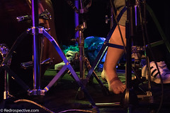 Crack Foxes (redrospective) Tags: people music london feet closeup drums concert live gig perspective drummer instruments 2016 unsual thelexington april2016 20160430 crackfoxes