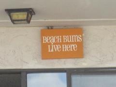 Chill (jamica1) Tags: canada beach sign bc okanagan columbia bums british penticton