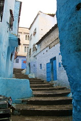 IMG_3681 (rachel_salay) Tags: city blue morocco chefchaouen
