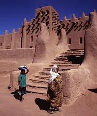 Djenné, Mali (pdellouve) Tags: africa photo mosque unesco adobe belle mali worldheritage djenne mopti afrique sahel mosquée jenne pisé rès