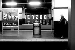 30th St. Station, Philadelphia (Jordan Barab) Tags: street blackandwhite bw philadelphia underground streetphotography amtrak trainstation 30thststation sonydscrx100markiii