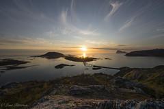 Sommary, Yttersia Kvalya (Lena Pettersen.) Tags: summer norway island north midnightsun troms sommary midnattssol deepnorth