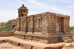 Devi Shrine in Ranga (Madhava) Temple, Hampi (Trayaan) Tags: travel india monument temple worldheritagesite historical karnataka hampi vijayanagar incredibleindia vijayanagara vijayanagarastyle indianhistoricalarchitecture karnataempire vijayanagaratemplearchitecture vijayanagaratemplearchitectur