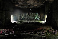 (Farlakes) Tags: abandoned theatre decay former army base farlakes urban exploration