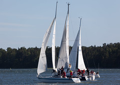 Adasta, Merliah ja Tyyne+ (Antti Tassberg) Tags: sea cup race espoo suomi boat sailing yacht regatta meri kes vene sailingboat whc westhouse purjevene purjehdus mellsten haukilahti