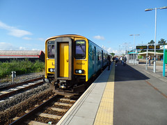 150250 Barry (Marky7890) Tags: station train railway barry sprinter dmu atw class150 150250 2m14