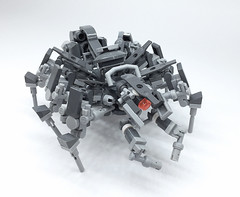 LEGO Mech Spider (ToyForce 120) Tags: lego robots mecha mech robot mechanic legomech legomoc weapon spider animal