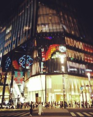 Don't remember seeing Tokyu Plaza Ginza the last time I was here (edmundyeo) Tags: instagramapp square squareformat iphoneography uploaded:by=instagram rise