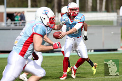 "RFL15 Assindia Cardinals vs. Bonn GameCocks 12.04.2015 021.jpg • <a style=""font-size:0.8em;"" href=""http://www.flickr.com/photos/64442770@N03/16503282484/"" target=""_blank"">View on Flickr</a>"
