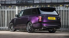Range Rover Vogue Autobiography (Rogue86Photog) Tags: cars nikon purple wheels automotive rover vogue modified british custom suv range d800