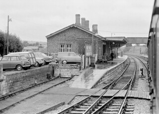 Maiden Newton station (1), 1974