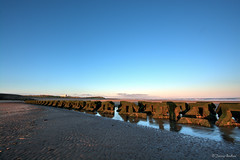 Breakers (Jemma Graham) Tags: sea england beach liverpool landscape sand rocks wave breakers hdr newbrighton merseyside
