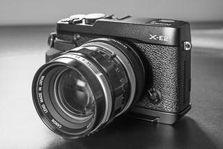 Fuji X-E2 w/Canon FL 50mm f/1.4
