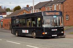 Diamond 30209 YD02 PZJ - DAF DE02CSSB120 (Retroscania!) Tags: bus buses diamond dudley wright publictransport westmidlands daf tipton dafde02cssb120
