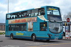 Arriva Cymru 4482 CX61CDF (Will Swain) Tags: city uk travel england west bus buses station wales cheshire britain centre north transport cymru chester april 25th exchange rhyl arriva 2015 4482 cx61cdf
