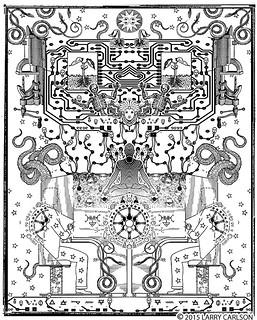 LARRY CARLSON, Astronomica 79, 2015.
